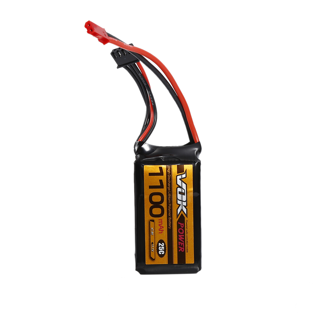Mini 11.1V 3S 1100mAh 25C Best RC Drones Lipo Battery Pack