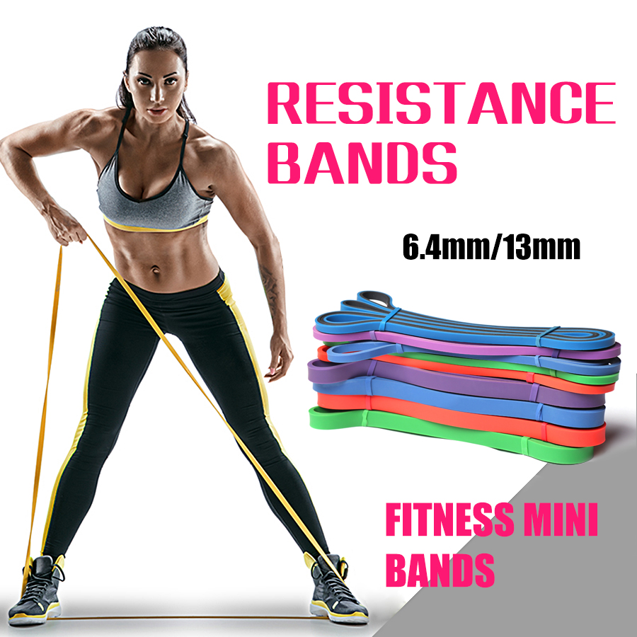 flylitte resistance bands crossfit sport elastic workout fitness gym rubber