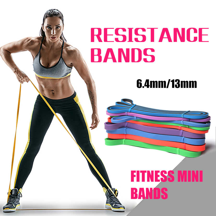 Fitness Pull Touw Weerstand Bands Crossfit Sport Workout Pull Up Band Gym Oefening Krachttraining Elastiekjes Bodybuilding