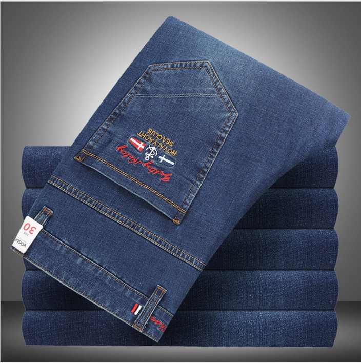 Shark Autumn New Italy Classic Blue Denim Pants Men Slim Fit Brand Trousers Male High Quality Cotton Fashion Jeans Homme 5301 17 shark summer new italy classic blue denim pants men slim fit brand trousers male high quality cotton fashion jeans homme 3366