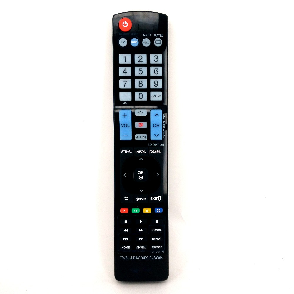 New High Quality AKB73615379 Remote Control For LG TV/BLU-RA