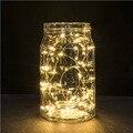 Nueva 3 M 30 Led de energía de La Batería Mini LED Hadas de la Secuencia del Alambre de Cobre Luces De Destello Del Partido luces de Navidad a prueba de agua multicolor