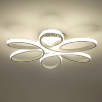 Modern Led Bedroom Ceiling Lights Dimmable Kitchen Living Room Deckenleuchten Luminaire Fixture Ceiling Lamp