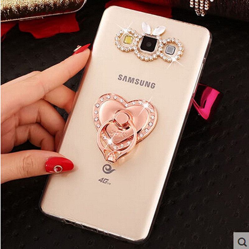 New 3D Swan bling <font><b>diamond</b></font> Stand Cell <font><b>Phone</b></font> Shell back Skin cover hard <font><b>case</b></font> For Samsung Galaxy Grand Neo <font><b>i9060</b></font> i9118 i9080 i9082