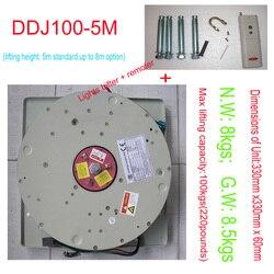 DDJ100KG 5 M Lustre Hoist Lumière Lampe Système De Levage Treuil Éclairage Lifter Lustre Ascenseur 110 V-120 V, 220 V-240 V, livraison Gratuite
