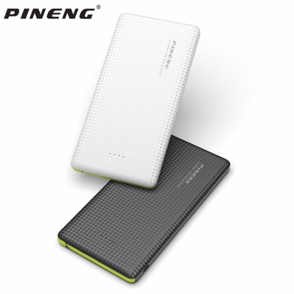 bilder für 100% original pineng pn-951 10000 mah tragbaren schnellladung batterie bewegliche energienbank dual usb ausgang li-polymer ladegerät