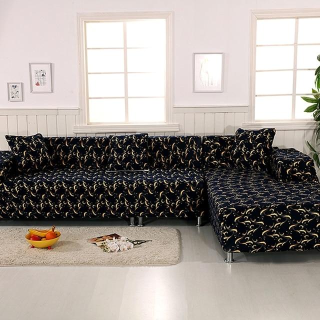 aliexpress.com : acquista 100% poliestere nero divano ad angolo ... - Divano Soggiorno Ad Angolo 2