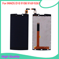 5PC/Lot  For INNOS D10 FPC 9108 9169 9267 LCD Display Touch Screen Black Mobile Phone LCDs Free Shipping