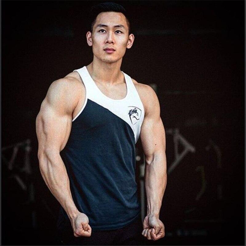 alphe New Mens Sleeveless Tank Tops alp Summer Cotton Male Tank Tops gyms Clothing Bodybuilding Undershirt Golds Fitness tan top