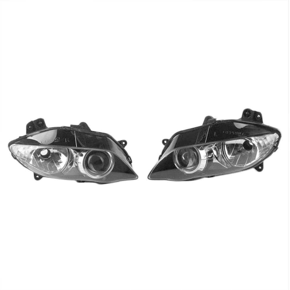 Motorcycle Front Headlamp Headlight for Yamaha YZF R1 2004 2005 2006 Motobike Lighting Lights Head Lamp pair car front headlamp clear lens headlight plastic shell clear cover for bmw e90 e91 2004 2005 2006 2007