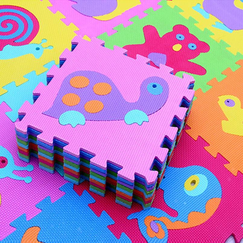 HTB19g tXiLrK1Rjy1zdq6ynnpXaK 9Pcs/set EVA Foam Baby Play Mat Stitching Crawling Rug Kid Kruipen Mat Assembled Animal Carpet Puzzle Pad For Children Games