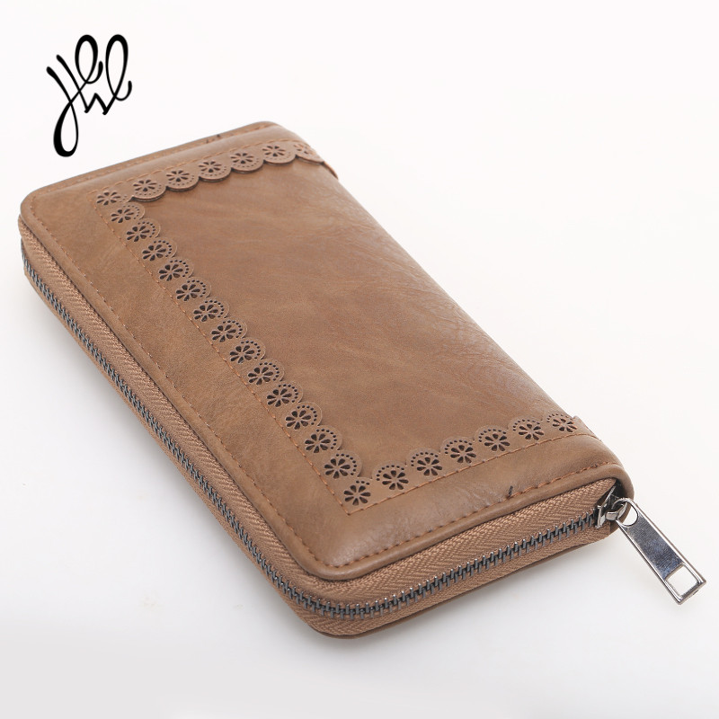 GAINA Brand Fashion Women Wallet New Coin Purse Soft PU Leather Lady Money Coin Case Purse