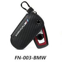 For BMW Car Leather Carbon Fiber Key BagE46 F10 F10 F20 F21 F21 F23 X5 X6