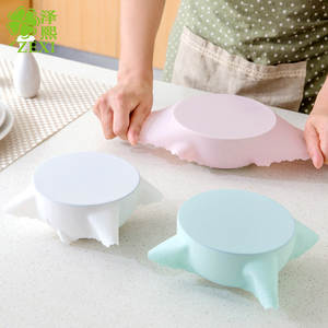 Vacuum-Container-Cover Storage-Lids Kitchen-Tool Food-Grade Silicone High-Stretch Seal