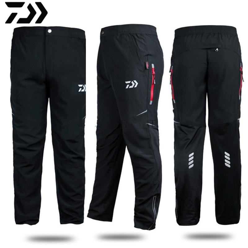 DAWA DAIWA Outdoor Sports Pants 2020 Professional Men Fishing Pants Anti-static Anti-UV Quick-drying Windproof Breathable Pants