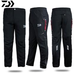 Dawa daiwa calças de esportes ao ar livre 2020 calças de pesca de homens profissionais anti-estática anti-uv de secagem rápida à prova de vento respirável calças