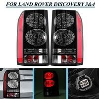 Для LAND ROVER DISCOVERY 3 и 4 04 ~ 14 2 шт. сзади стайлинга автомобилей Глава задний фонарь лампы стоп фары бампер отражатель стоп
