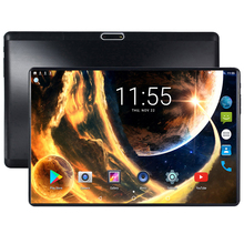 Brand New Android 7.0 Octa Core 10 inch Tablet PC 4GB RAM 64GB ROM 8MP WIFI GPS 4G LTE 2.5D Tempered Glass IPS 1280*800 Screen