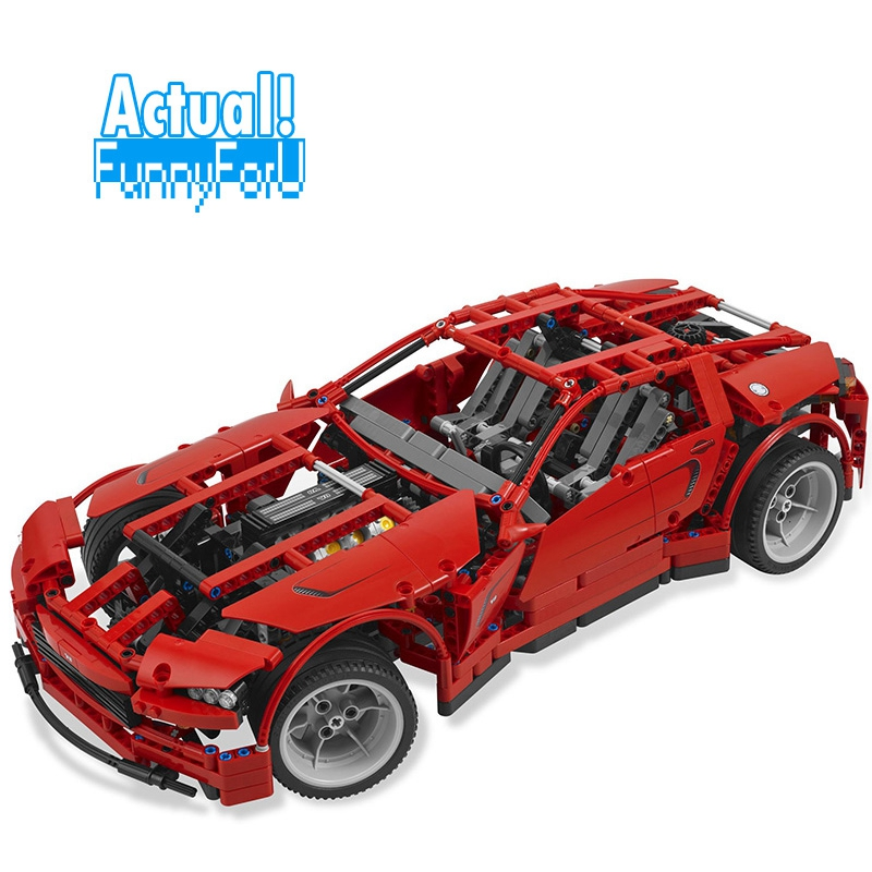 20028 1281PCS Technic series Super Car assembly toy car model LEPIN brick building block toy gift for boy INGly in stock lepin 20028 1281pcs technic series super car assembly toy car model diy brick building block toy gift for boy gift 8070