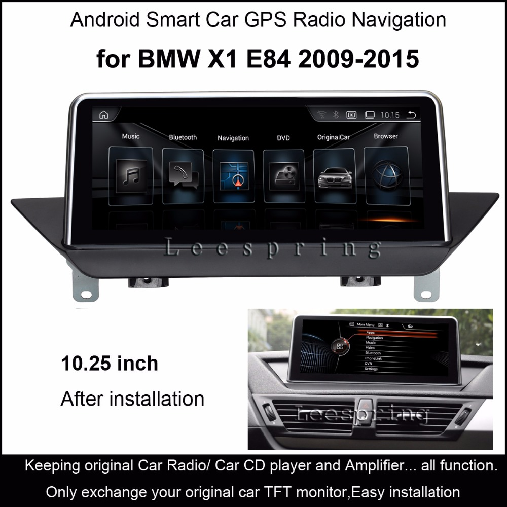 10.25 inch Android 4.4 Car GPS Navigation for BMW X1 E84 2009 to 2015 with  MP5 Bluetooth WiFi Mirrorlink-in Car Multimedia Player from Automobiles ...