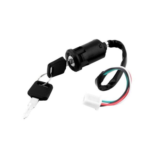 Aliexpress Buy Ignition Key Switch Lock 4 Wires Bike ATV – Kawasaki Ignition Switch Wiring