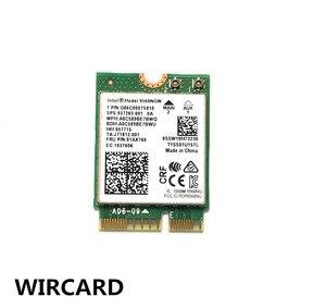 Image 2 - Wircard 듀얼 밴드 무선 ac 9560 인텔 9560ngw 802.11ac ngff 키 e 2.4g/5g 2x2 wifi 카드 블루투스 5.0