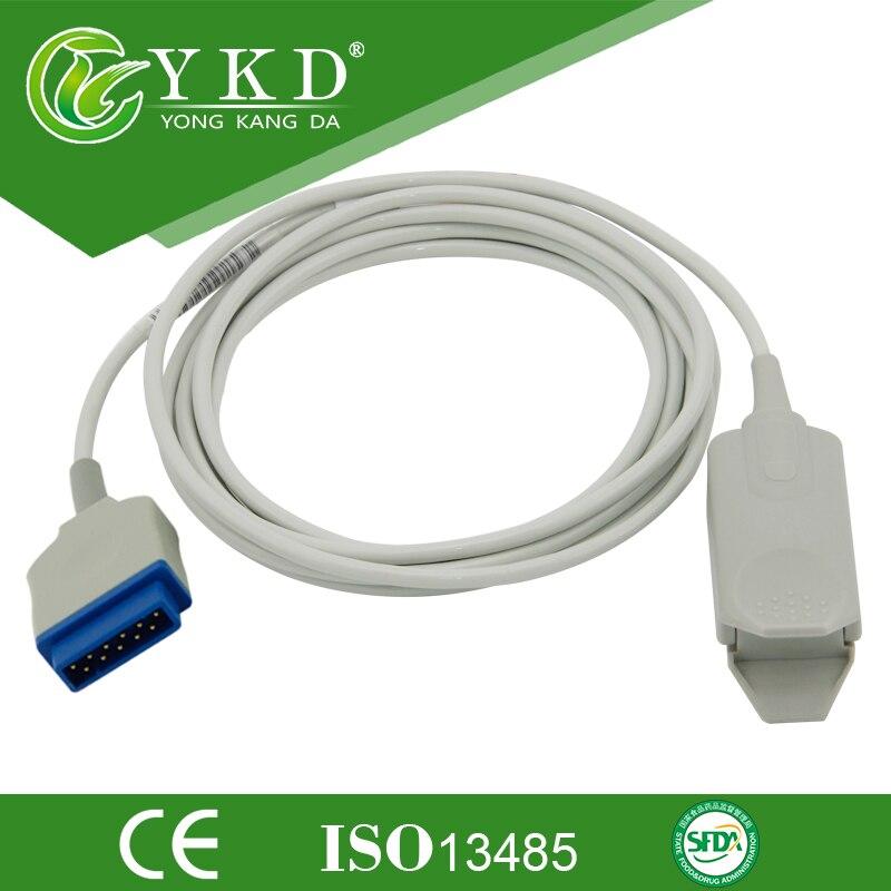 Adaptor clemă deget Spo2 Senzor / Probe coajă tare 11Pin .3m cablu - Instrumente pentru îngrijirea pielii