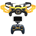 Jxd512w 2.4 ghz wifi fpv drone mini one-key-retorno & modo headless quadcopter rc com 0.3mp hd câmera de controle remoto rtf toys