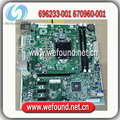 100% tested and working motherboard for HP 696233-001 670960-001 H-JOSHUA-H61-uATX