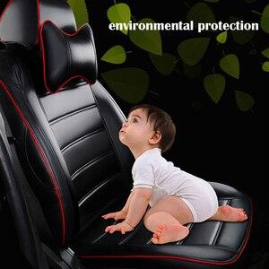 Image 5 - Yuzhe (2 קדמי מושבים) אוטומטי רכב מושב כיסוי עבור יונדאי ix35 טוסון solaris creta i30 מבטא elantra אביזרי רכב