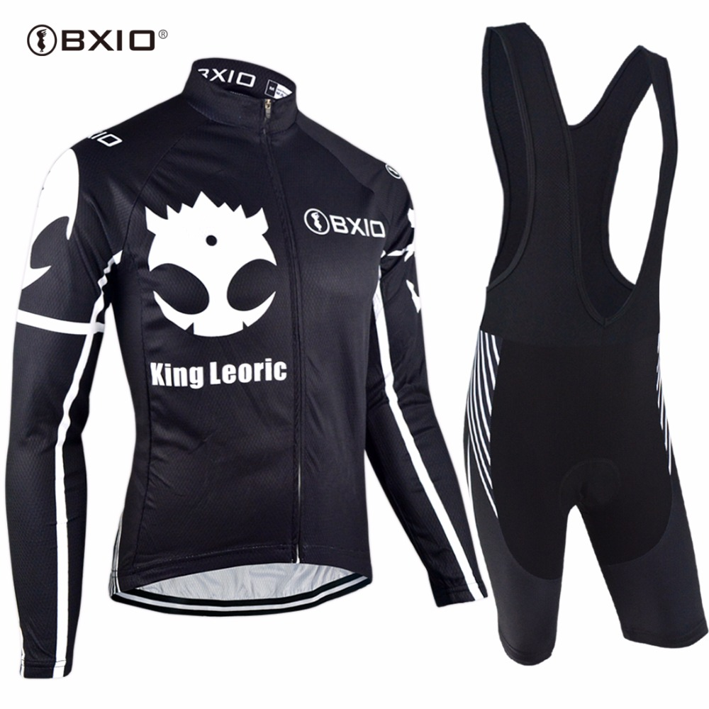 Bxio Brand Long Sleeve Cycling Sets Mix Type Pro Team Bicycle Clothing Top Quality Summer MTB
