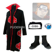 2014 new anime Naruto Akatsuki Pein Cosplay Costume  Whole Set man and women cosplay costume