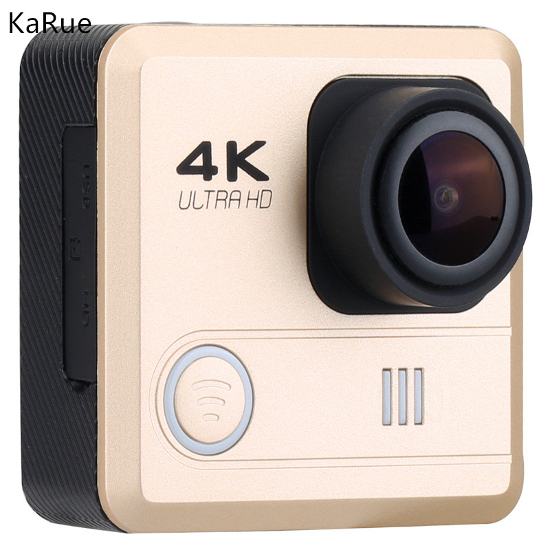 Karue Action Camera WiFi 16MP 4K Camera 1080P HD Camera 4k 2.0LCD Sport Camera DV DVR Video Camcorder pro4 built in wifi 2 7k screen hd 1080p waterproof action camera 14mp sport camera dvr dv video camcorder black silver