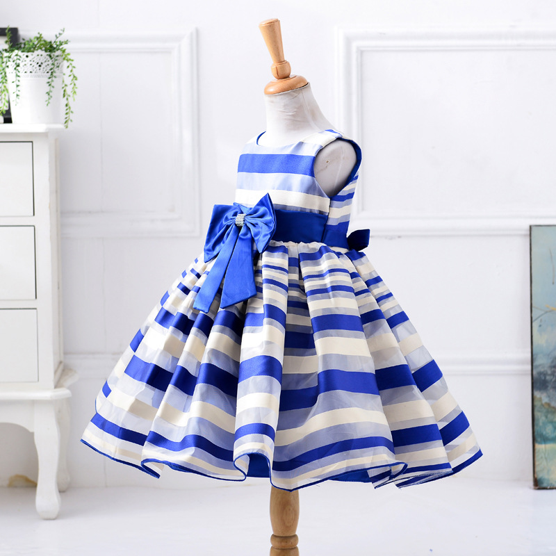 New Hot beautiful kids dresses for girls princess wedding party dresses girl clothes dress bridesmaid children clothing fashion 2016 new autumn girls dress cartoon kids dresses long sleeve princess girl clothes for 2 7y children party striped dress