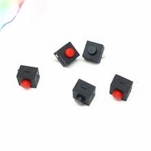 5 sztuk małe mikro samozakleszczające się małe micro samoblokujący 8*8*8 4 2 stopy wit 2 stopy z zamkiem światła przełącznik dotykowy przycisk tanie tanio 10000 Przełącznik Wciskany Plastikowe Przełączniki