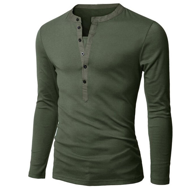Aliexpress.com : Buy UNIVOS KUNI T Shirt Men Long Sleeve Autumn ...