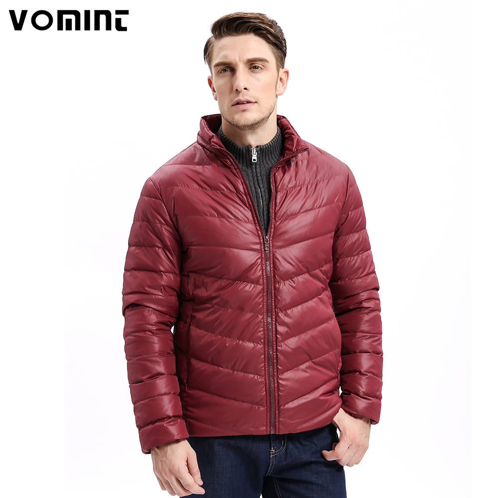 Kinder Schuhe Logisch Vomint 2019 Winter Neue Herren Unten Jacke Mid-gewicht Einfarbig Slim Fit Warme 80% Unten Smart Casual Business Tragen Männliche F6wi9341 Mit Traditionellen Methoden