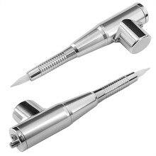 Microblading dövme makinesi kalem kaş dudak Eyeliner kalıcı makyaj 3D nakış ile güç kaynağı adaptörü İğneler İpuçları