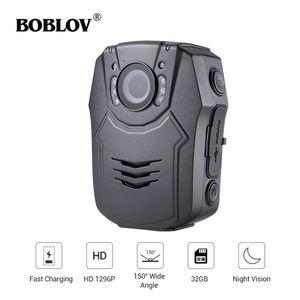 Image 1 - BOBLOV cámara de seguridad corporal PD50 HD 1296P IR, cámara de policía de bolsillo con visión nocturna, grabador de vídeo DVR, guardia de seguridad