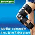 Articulación de La Rodilla médica Ajustable Brace Apto para Fractura de Rodilla Ligamento Lesión de fijación Proporcionan Apoyo Ejercicios de Rehabilitación