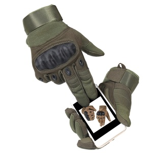Image 5 - 1 זוג אופנועים כפפות לנשימה יוניסקס מלא כפפת אצבע אופנתי חיצוני מרוצי ספורט כפפת מוטוקרוס מגן כפפות