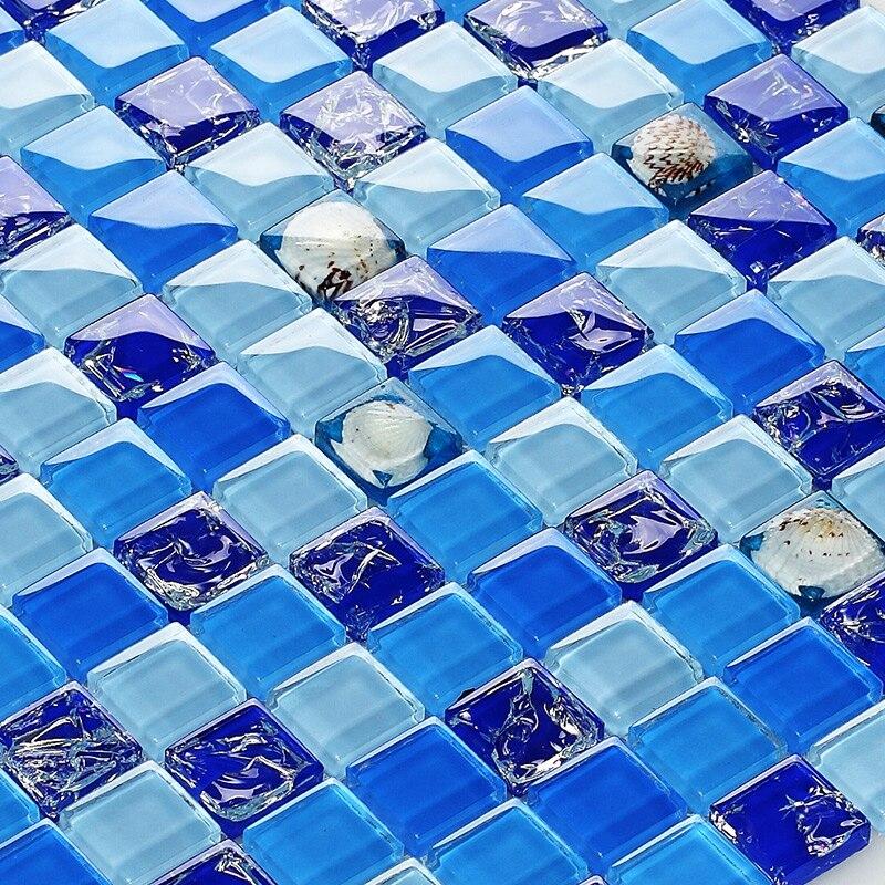 blu piastrelle di vetro-acquista a poco prezzo blu piastrelle di ... - Blu Piastrelle Del Bagno Mosaico