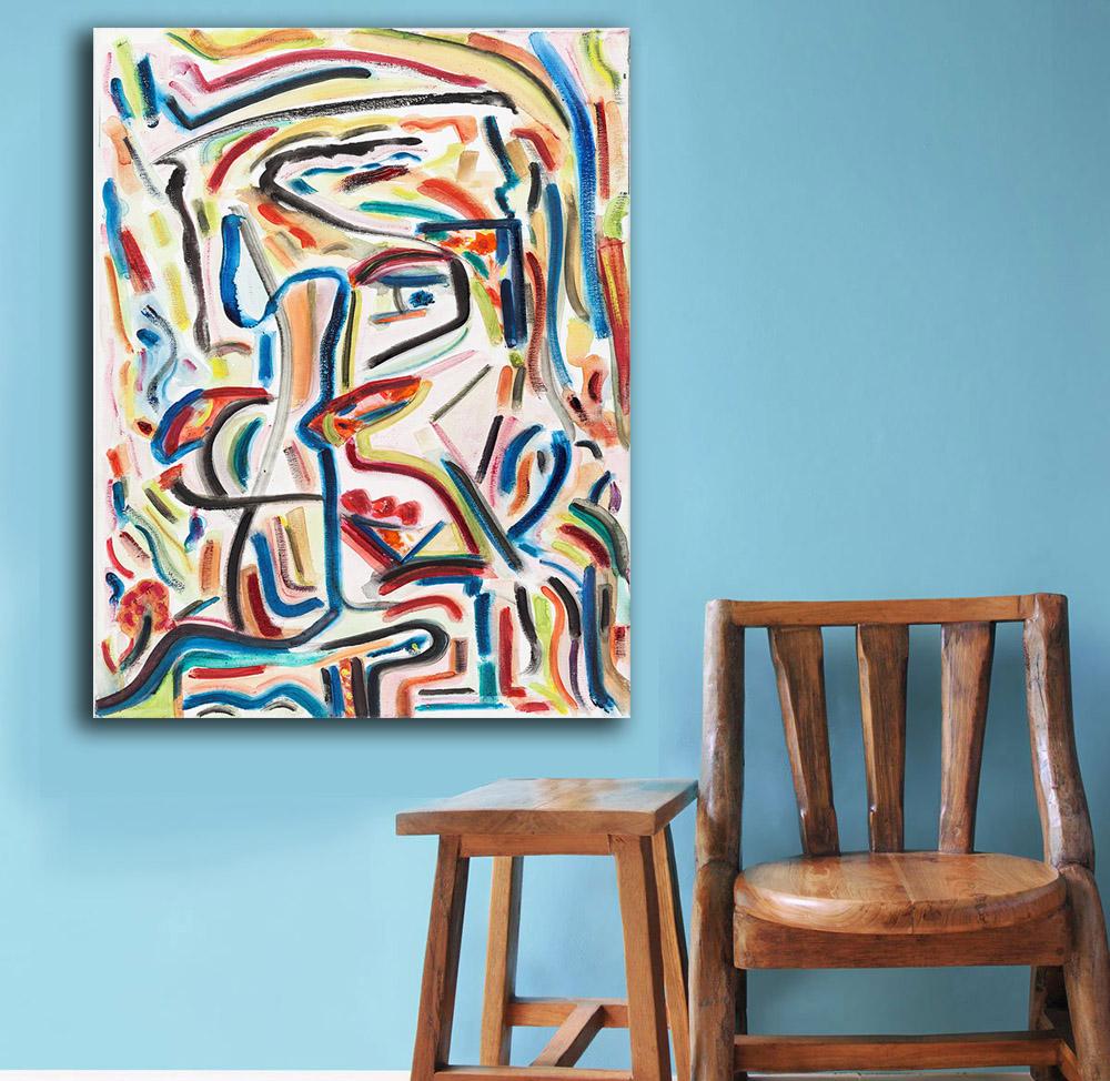 Kumsal duvar boyas rengi ile modern ve k ev dekorasyonu - Moda Soyut Ya L Boya Beach Boys Paiting Ev Dekor Tuval Zerine Modern Duvar Art Canvas Bask Poster