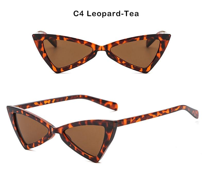 45a6271b9c792 AiC 2018 New Cat Eye Mulheres óculos de Óculos de Sol Óculos de Sol  Triangular Moda pequeno quadro Óculos De Sol UV400. 5 6. 1 2 c1 c2 c3 c4 ...