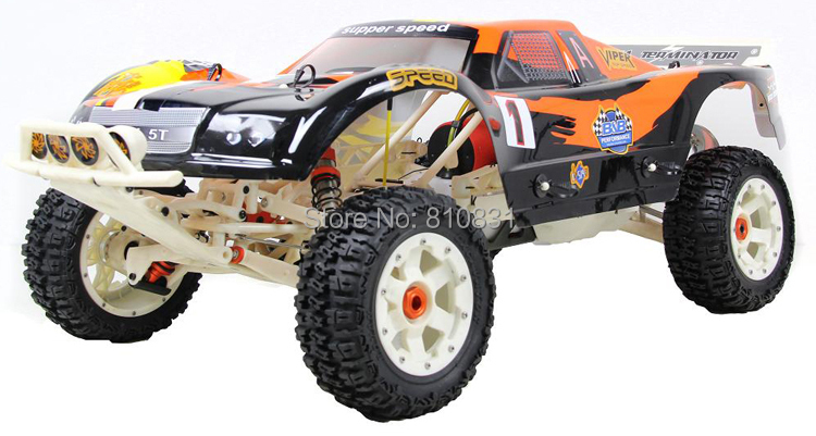 Freeshipping baja 290T New style 1/5 scale alloy and nylon 29cc baja 5T CAR 290T Warbro and NGK 2017 new rovan 1 5 scale gasoline rc car baja 5b high strength nylon frame 29cc engine warbro668 symmetrical steering
