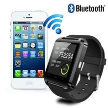Bluetooth smart watch U8 Сенсорный Экран Smartwatch для iphone 4/4s/5/5s/6 Samsung S4/Note/S6 HTC Android Смартфон