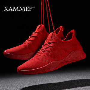 Image 3 - Men Casual Shoes Men Sneakers Brand Men Shoes Male Mesh Flats Loafers Slip On Big Size Breathable Spring Autumn Winter Xammep
