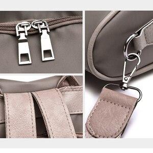 Image 3 - ファッション軽量女性のバックパックオックスフォード防水古典的なエレガントなリュックショッピングレジャースクールバッグ新デザイン
