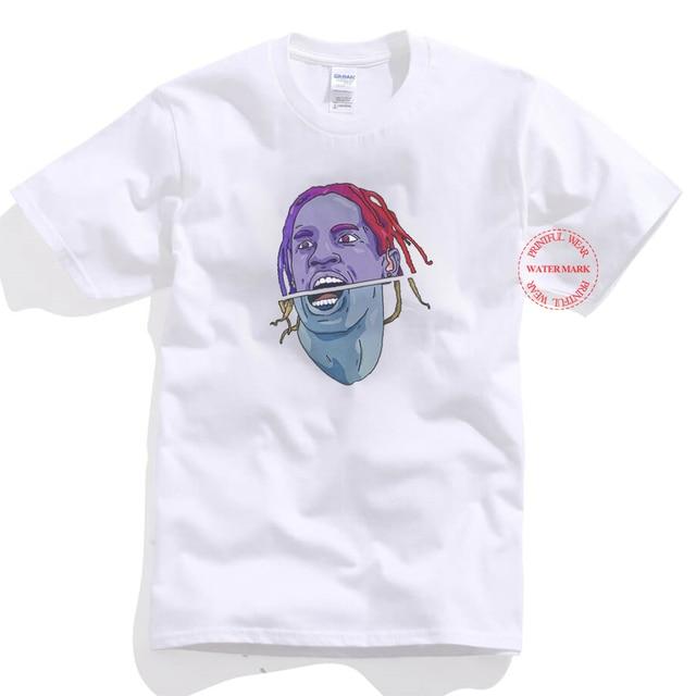 da1b4421 Fashion Summer Custom Travis Scott Short Sleeve T Shirt Basic Cotton Tee  Rodeo Rap Hip Hop T-Shirt Men Unisex Tee Shirt