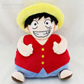 Free shipping One piece Captain warmer and strawhat luffy embrace plush hands warmer